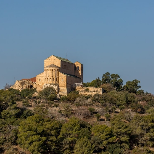 Church of the Transfiguration is a Franciscan church on Mount Tabor